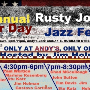 4th Annual Rusty Jones Labor Day Jazz Festival